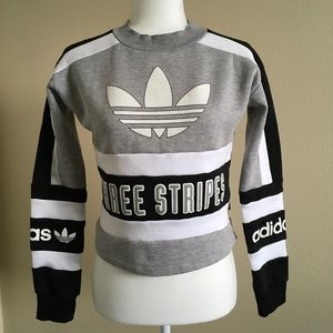 Adidas Originals Three Stripes Sweatshirt
